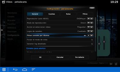 configurar kodi pelisalacarta