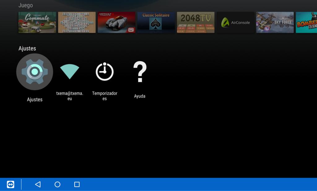 Ordenar los canales de tu Sony Bravia Android TV - Paso 1
