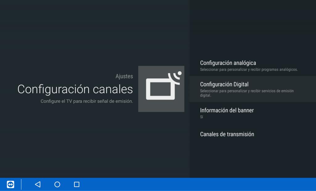 Ordenar los canales de tu Sony Bravia Android TV - Paso 3