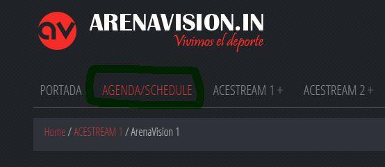 Arenavision, para ver todo el fútbol online | Agenda