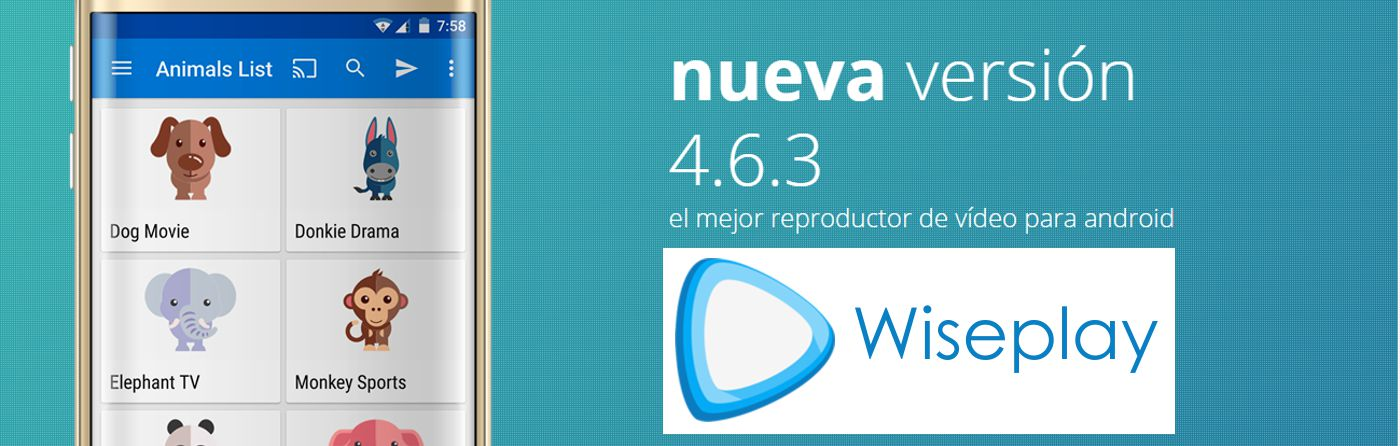 Wiseplay, reproductor multimedia gratuito